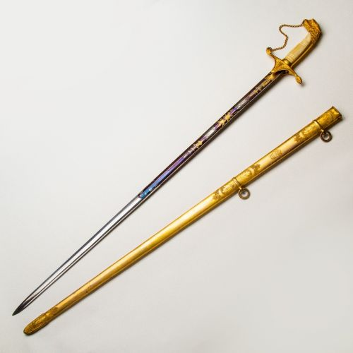1830-1840 Presentation Grade Eagle Head Militia Officer's Sword