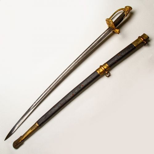 Presentation Grade Staff Officer's Sword