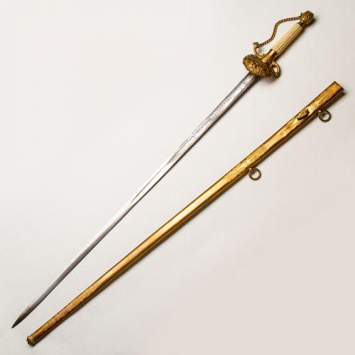 1840-1850 United States Militia Officer's Sword