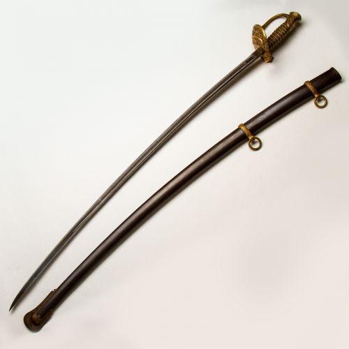 1862 Presentation Grade Collins & Co Cavalry Staff Officer's Sword