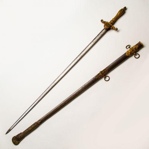 Model 1840 Presentation Grade Medical Staff Officer's Sword