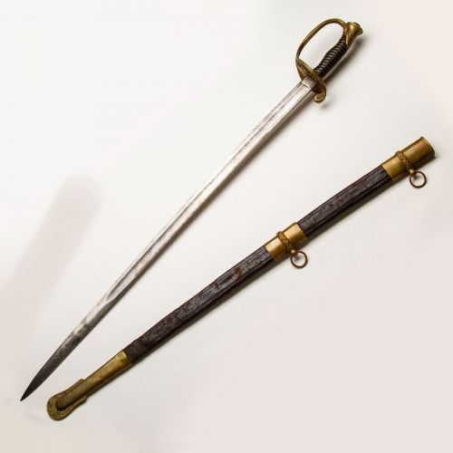 Model 1850 Civil War Foot Officer Sword