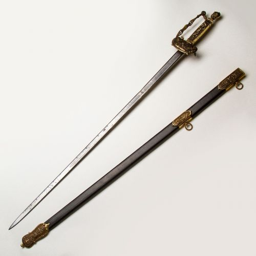 American National Treasure Congressional Presentation Sword for the War of 1812