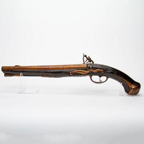 Large Revolutionary War Era Dragoon Pistol