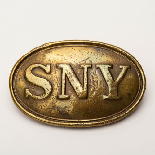 "Identified SNY Puppy Paw Belt Plate 3.5"" x 2"""