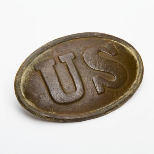 "Civil War US Oval Buckle 3.5"" x 2"""