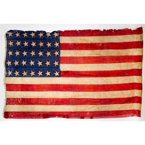 35 Star Civil War Flag (1863), 10'x7'