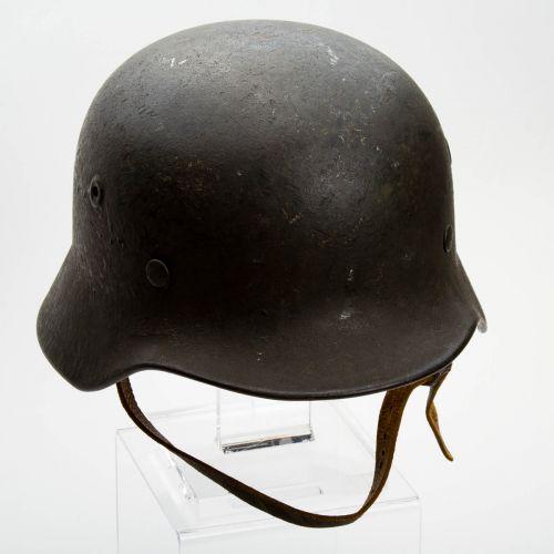 """German WWII M40 Helmet 9"""" x 6"""" x 6"""""""