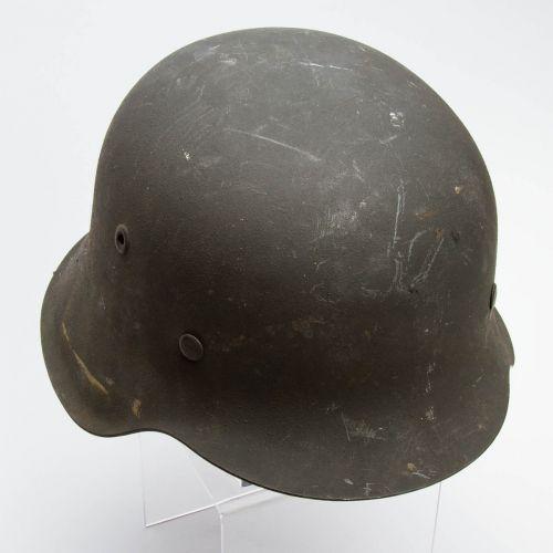 """German WWII M42 Helmet 9"""" x 7"""" x 6"""""""