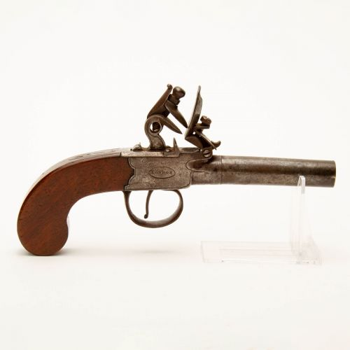 Heaton & Smith British Flintlock Pistol