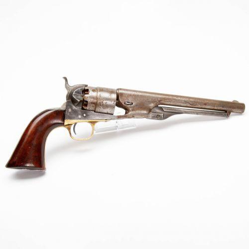 Colt 1860 Army Revolver (Serial # 52717) 1862, 3rd Virginia Regiment