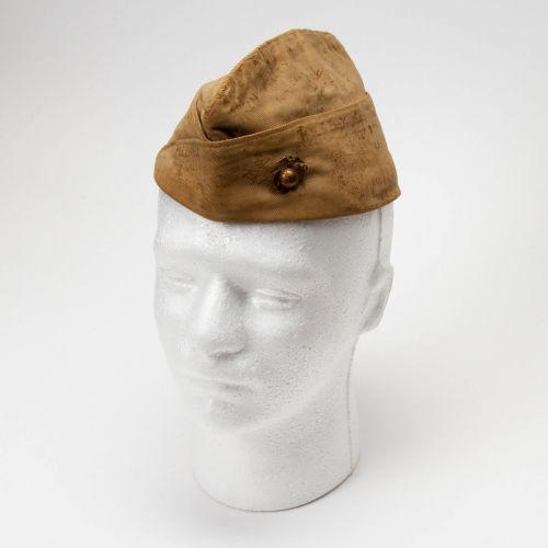 WWII Souvenir USMC Overseas Cap