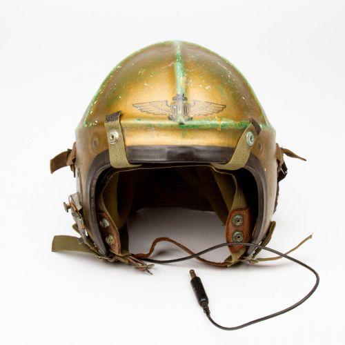 Korean War Era USN Flight Helmet