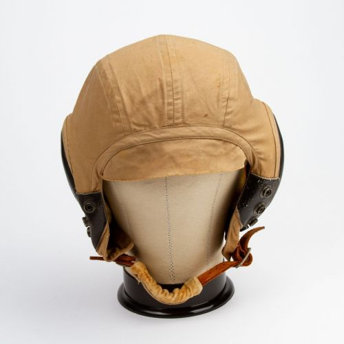 WWII U.S. Army Air Force AN-H-15 Summer Flight Helmet