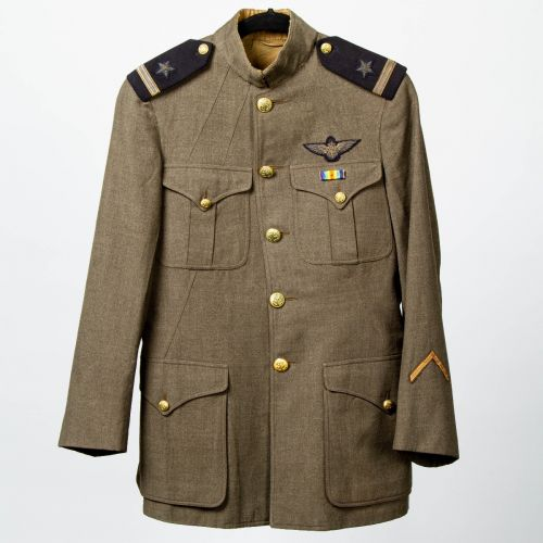 WWI U.S. Navy Aviators Tunic, Identified as Charles W. Mitchell, Jr.