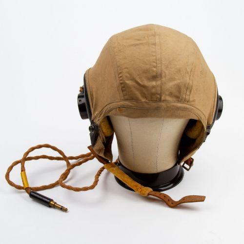 WWII AN-H-15 Summer Flight Helmet