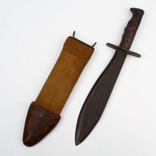 WWI US M1917 Trench Bolo Knife