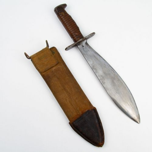 US WWI M1917 Trench Bolo Knife