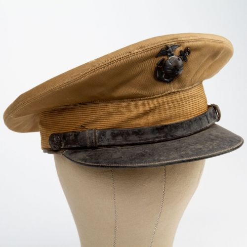 Identified WWII Era USMC Visor Cap