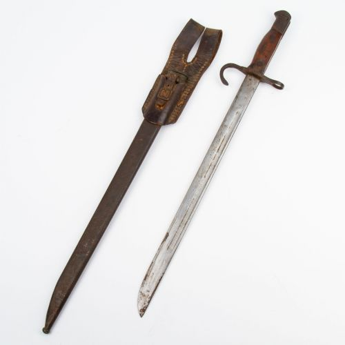 Japanese WWII Bayonet (Type 30 - A) Unmarked Blade / Training