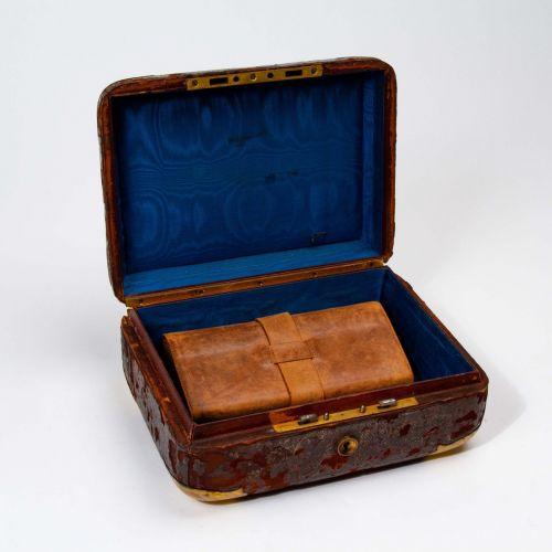 Identified Civil War Document Box & Wallet