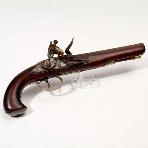 East India Co. Flintlock Pistol