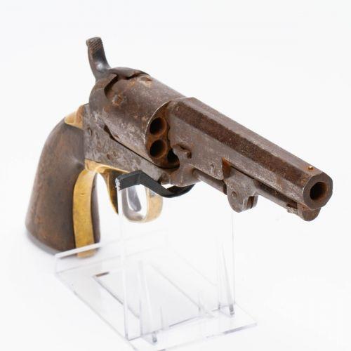 Colt Model 1849 Pocket  Revolver Serial #206840, mfg. 1862