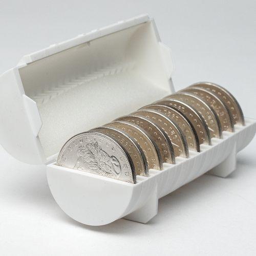 Roll of 10: 1921-P Morgan Dollar BU