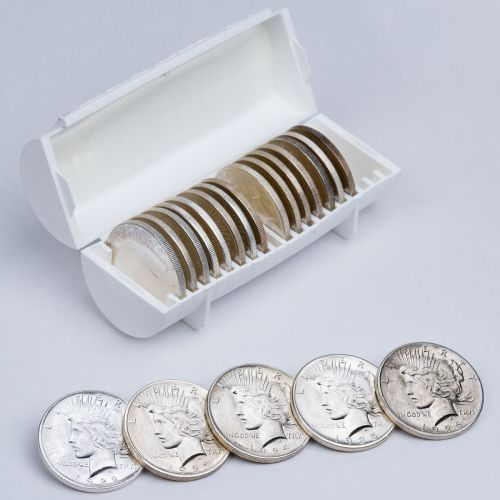 20 Coin Super Silver Peace Dollar Roll