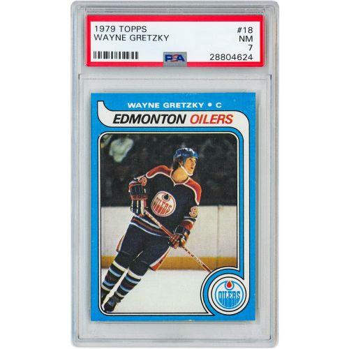 Card 1979 Topps Wayne Gretzky PSA 7