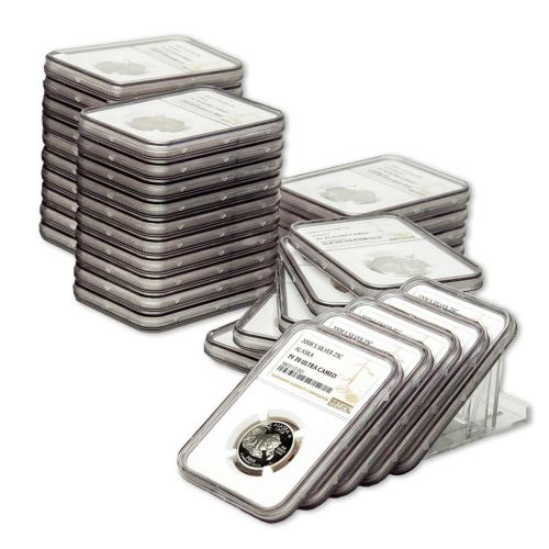 Set of 50: Complete 1999-S - 2008-S Silver Statehood Quarter Set NGC PF70UCAM