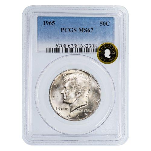 1965 Kennedy Half Dollar MS67 EVEREST