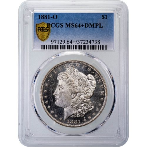 1881-O Morgan Silver Dollar MS64+