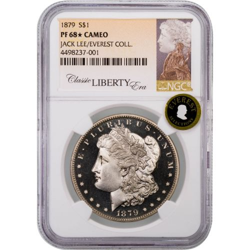 1879 Morgan Dollar NGC PF68 Star Cameo Everest