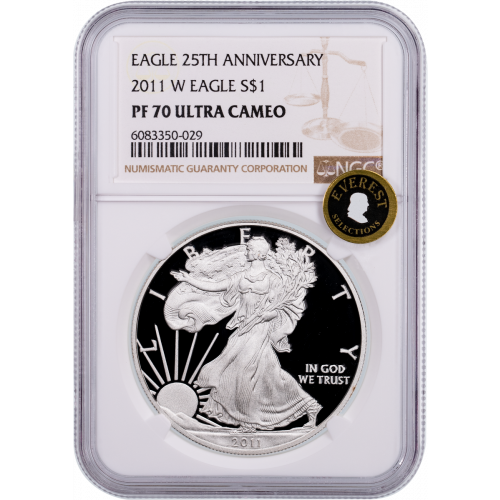 2011-W American Silver Eagle NGC PF70UCAM Everest