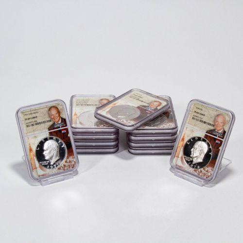 Set of 11: 1971-S - 1976-S Eisenhower Dollars NGC PF68 Cameo I Like Ike Label