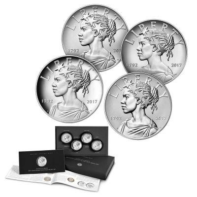 Set of 4: 2017-P American Liberty Medal Set Original Government Packaging