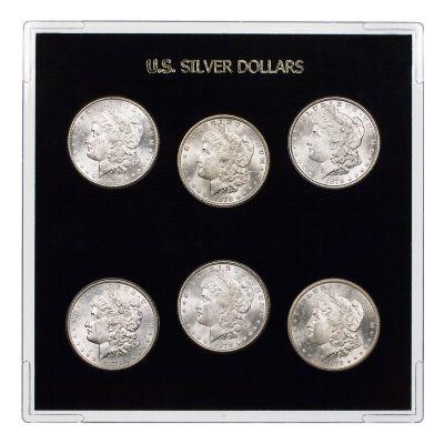 Morgan Dollar 1878 Collector`s Dream Year Set