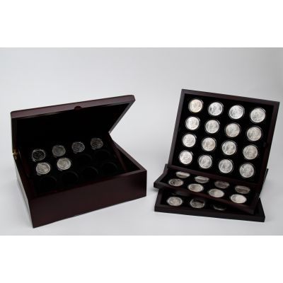 Set of 54: Mega Monster Morgan Silver Dollar Collection BU