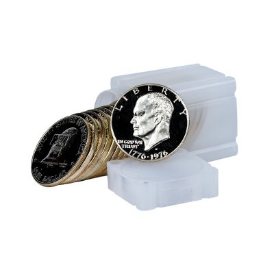 Roll of 20: 1976-S Eisenhower Silver Dollars Gem Proof