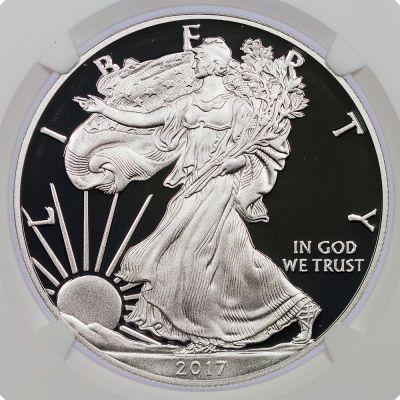 2017-W American Silver Eagle PF70 UCAM