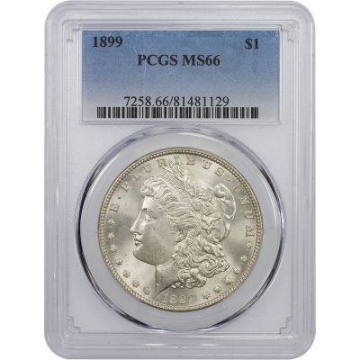 1899-P Morgan Dollar MS66