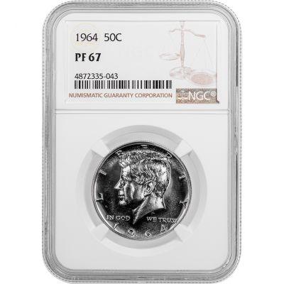 1964-P Kennedy Half Dollar PF67
