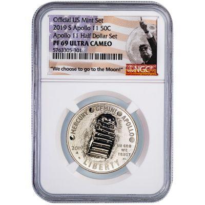 .50 2019-S 50th Anniversary Commemorative Half Dollar PF69