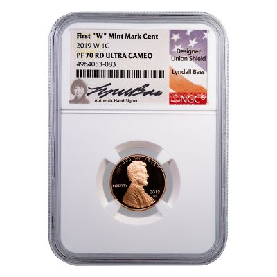 2019-W Lincoln Cent PF70 RD Ultra Cameo
