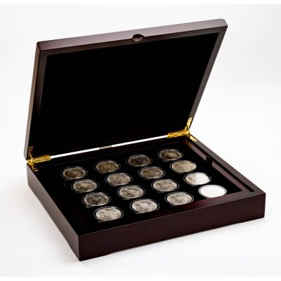 Set of 25: 1878-S - 1921-P Morgan Dollars Brilliant Uncirculated