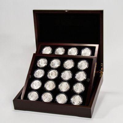 Set of 20: Varied Date Morgan Dollar Collector's Set