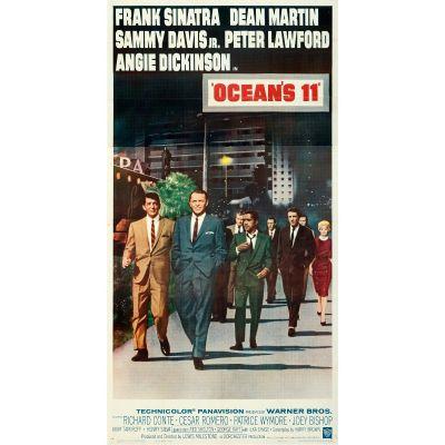 "Warner Bros., ""Ocean's 11"" 1960 Folded Three Sheet, Very Fine+, Unframed, 41 x 79"