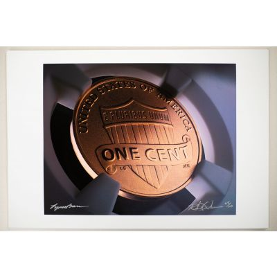 "Lincoln ""Shield"" Reverse Fine Art Print"