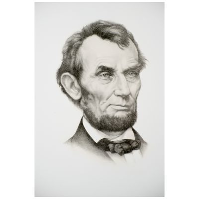 Limited Edition Abraham Lincoln Portrait Fine Art Print